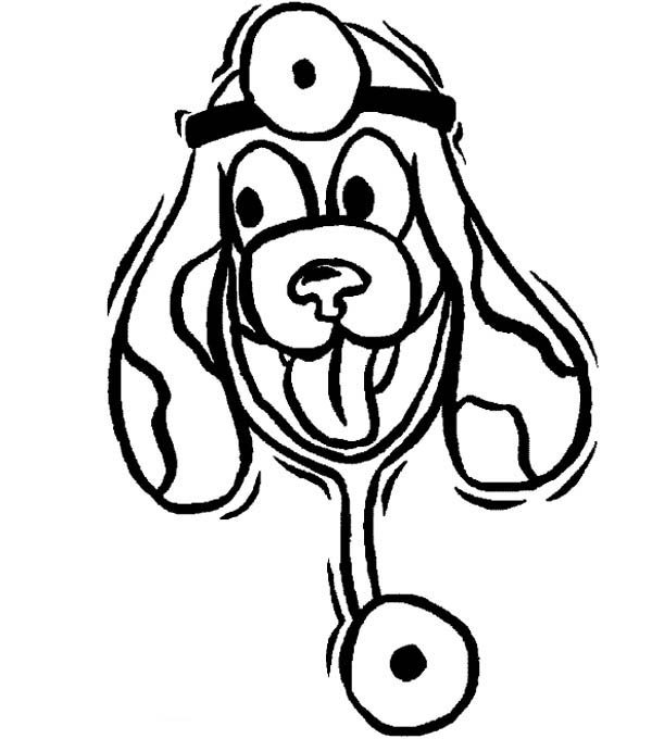 Animal Doctor At Hospital Coloring Pages