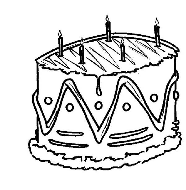 cake food coloring pages - photo#20