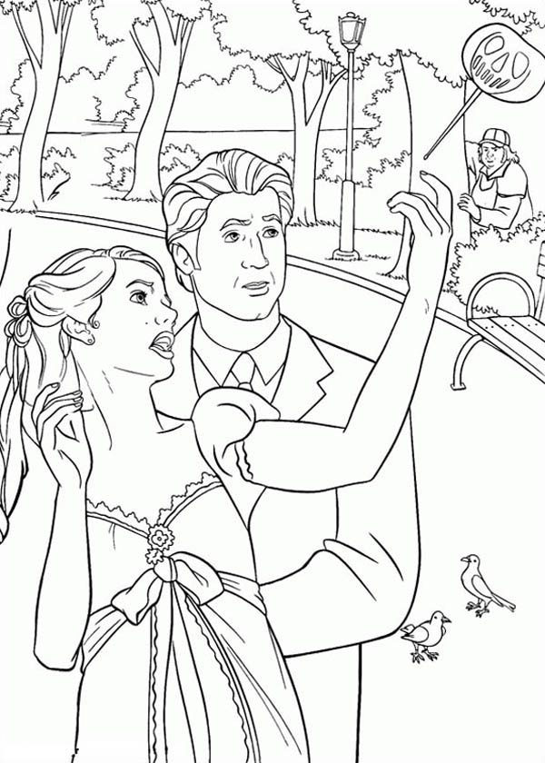Enchanted, : Enchanted Coloring Pages for Kids
