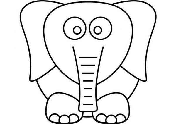 dumbo the elephant kids drawing dumbo the elephant coloring pages - Dumbo Elephant Coloring Pages