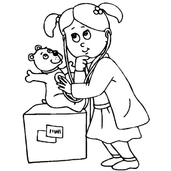 Pet Hospital Coloring Pages