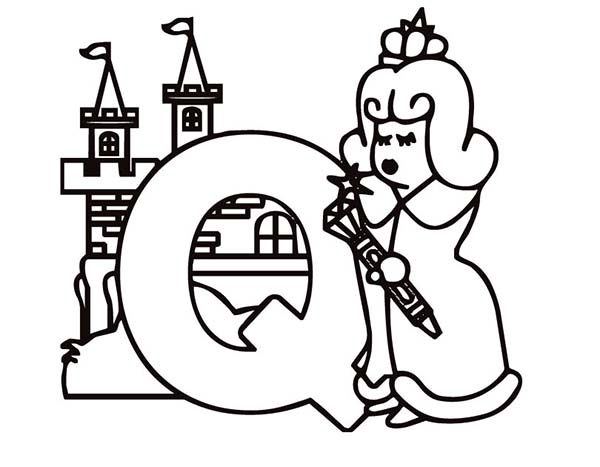 q coloring pages for preschool - photo #5