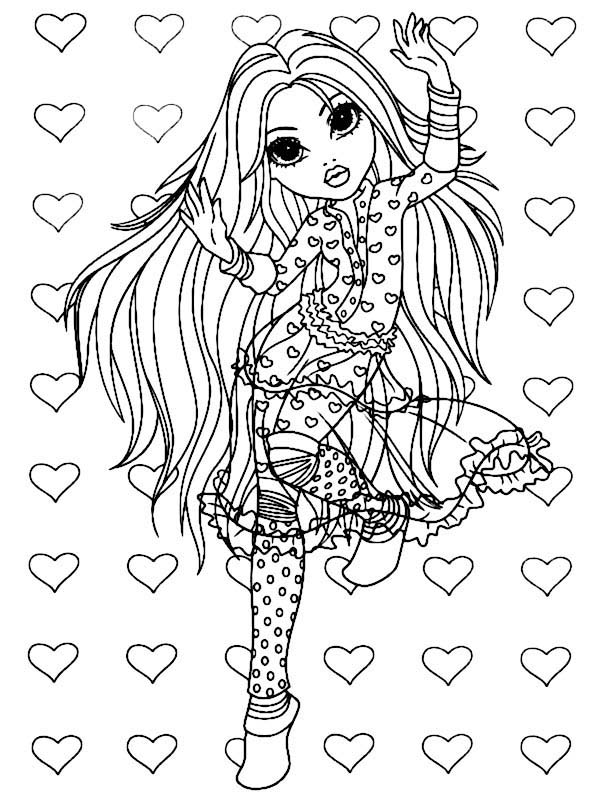Moxie Girlz, Avery Dancing Style in Moxie Girlz Coloring Pages: Avery Dancing Style In Moxie Girlz Coloring PagesFull Size Image