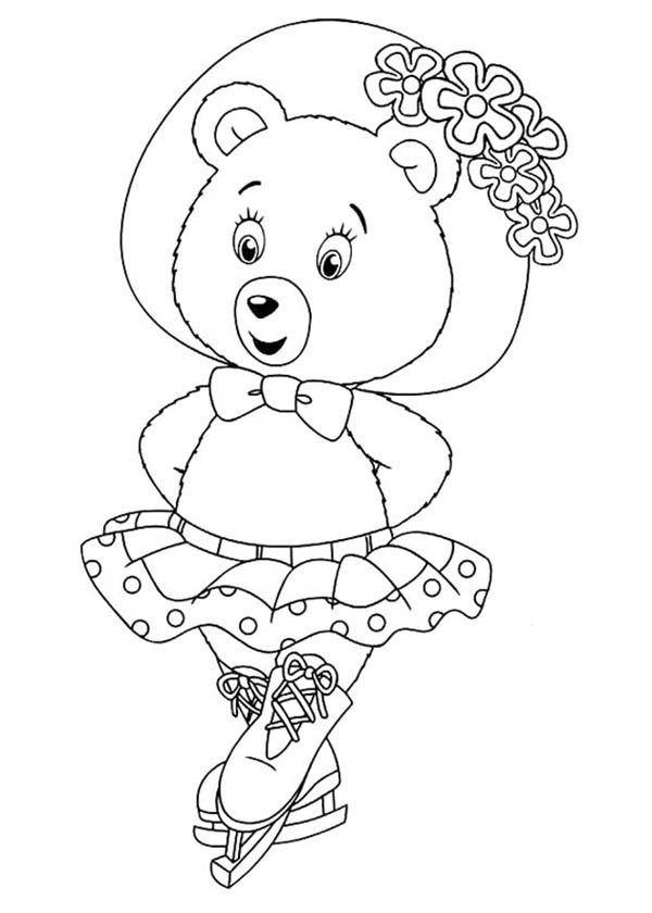 Beautiful Mrs Tubby Bear in Noddy Coloring Pages: Beautiful Mrs ...