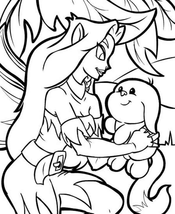 neopet faerie coloring pages - photo #13