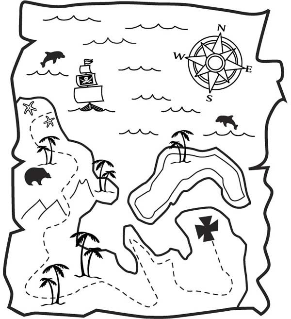 Maps, : Guidance Maps Coloring Pages