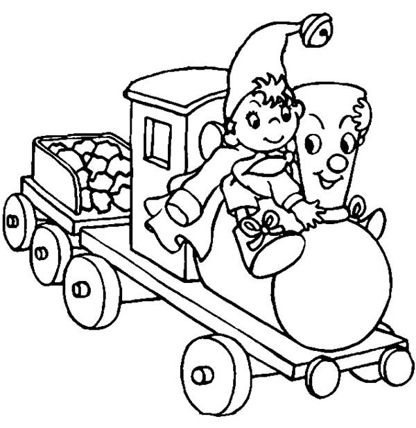 Noddy, : How to Draw Noddy Coloring Pages