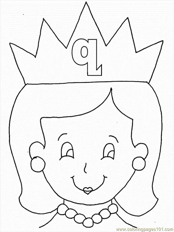 q coloring pages for kids - photo #40