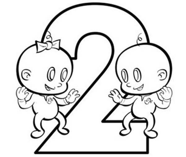 Number 2, : numbers-export