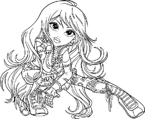 Moxie Girlz, : Lexa Photoshoot in Moxie Girlz Coloring Pages