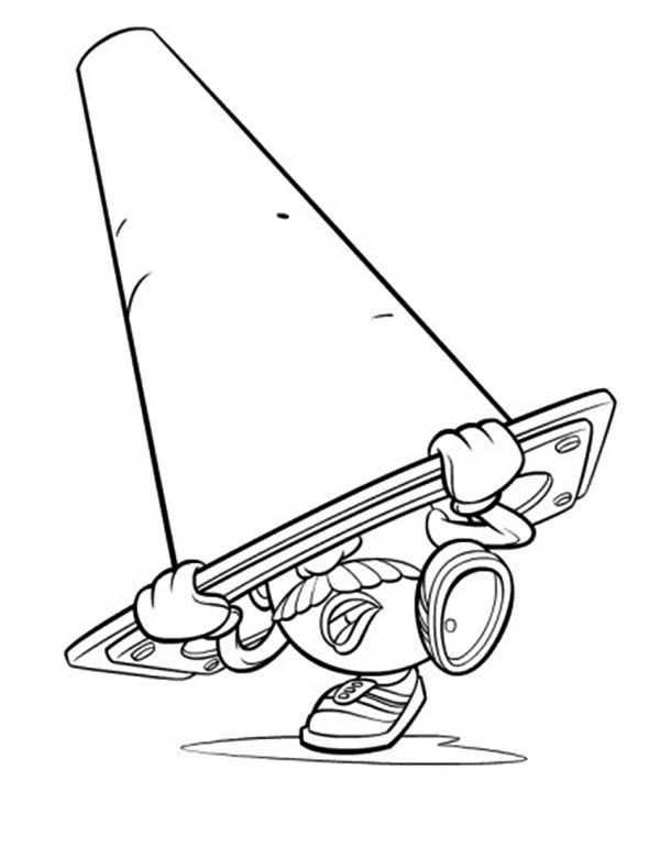 Mr. Potato Head, : Mr. Potato Head Hiding Coloring Pages