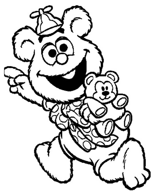 Muppet Babies, : Muppet Babies Character Coloring Pages