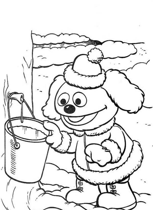 Muppet Babies, : Muppet Babies Get Some Water Coloring Pages