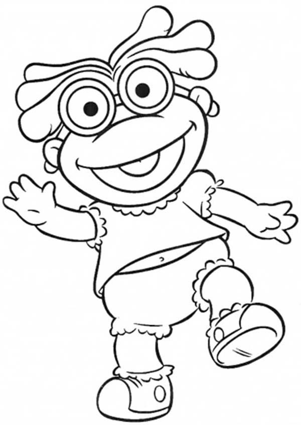 Muppet Babies, : Muppet Babies Would Like to Play with Friends Coloring Pages
