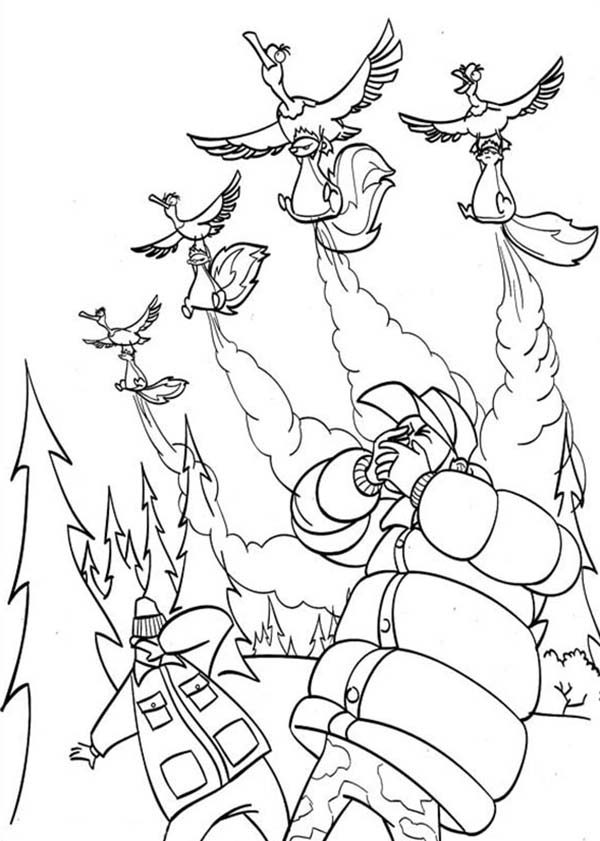 Oliver and Company, : Open Season Coloring Pages for Kids