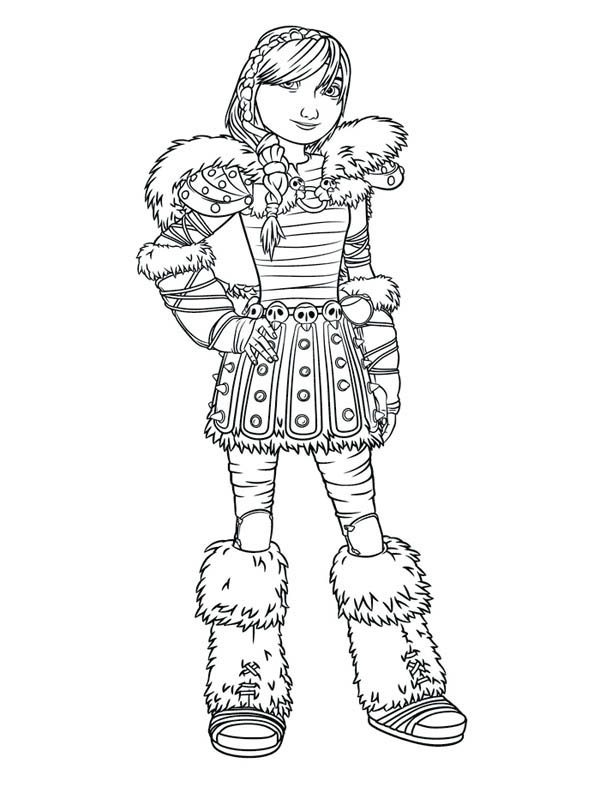 Dragon picture of astrid how to train your dragon coloring pages