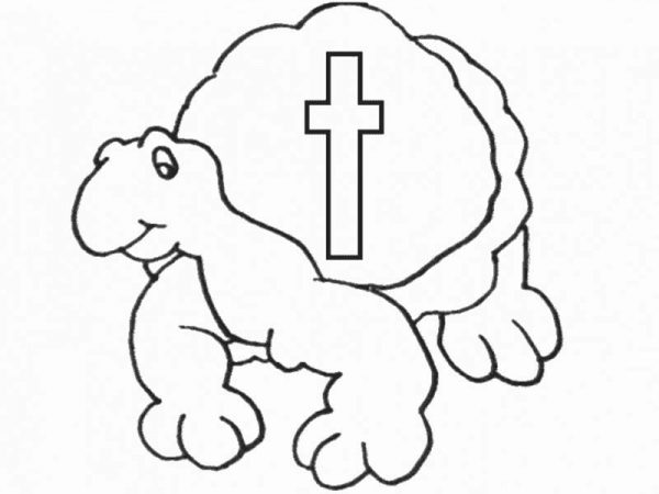 Letter T, : Small Case Letter T for Turtle Coloring Page