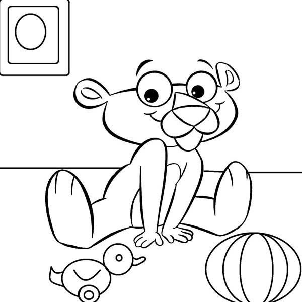 the pink panther coloring pages - photo#20