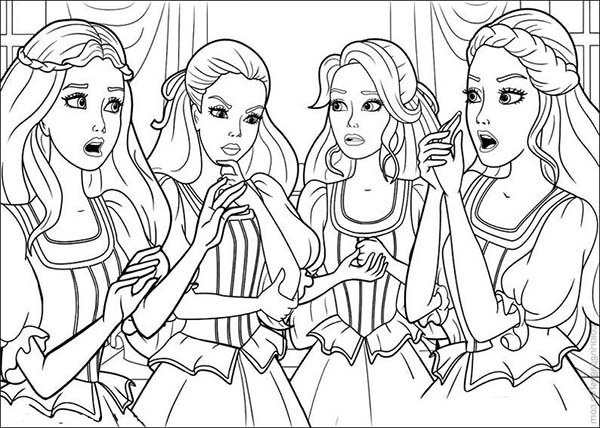 Barbie and Three Musketeers, : Barbie and Three Musketeers Coloring Pages Think about Plan to Do