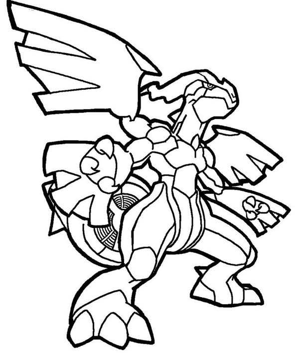 Fighting Pokemon Coloring Pages