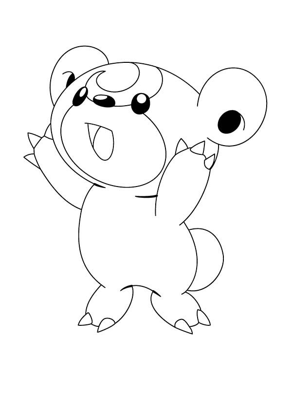 funny and cute pokemon coloring pages