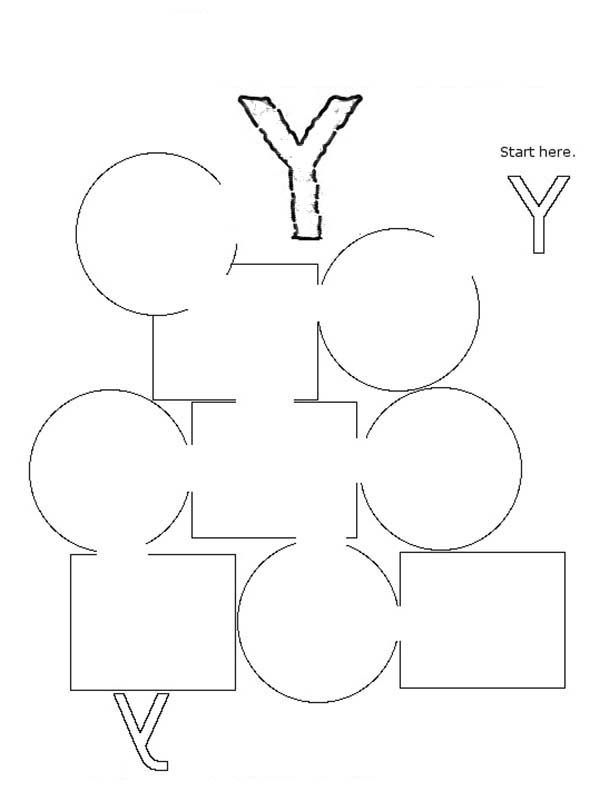 y coloring pages for kids - photo #37