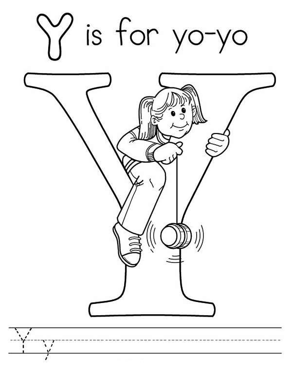 y coloring pages for preschoolers - photo #16