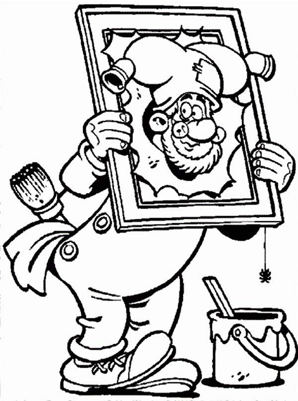 Plop the Gnome, : Plop the Gnome Broke Painting Coloring Pages