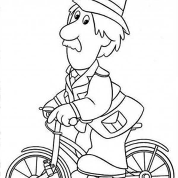 Postman Pat, : The Policeman in Postman Pat Coloring Pages