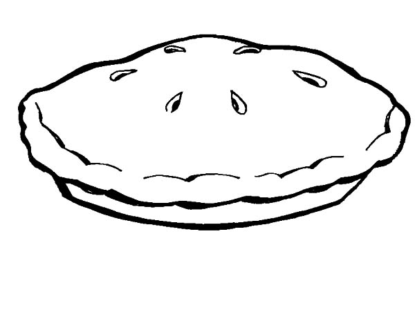 Apple Pie, : Apple Pie for Kids Coloring Pages