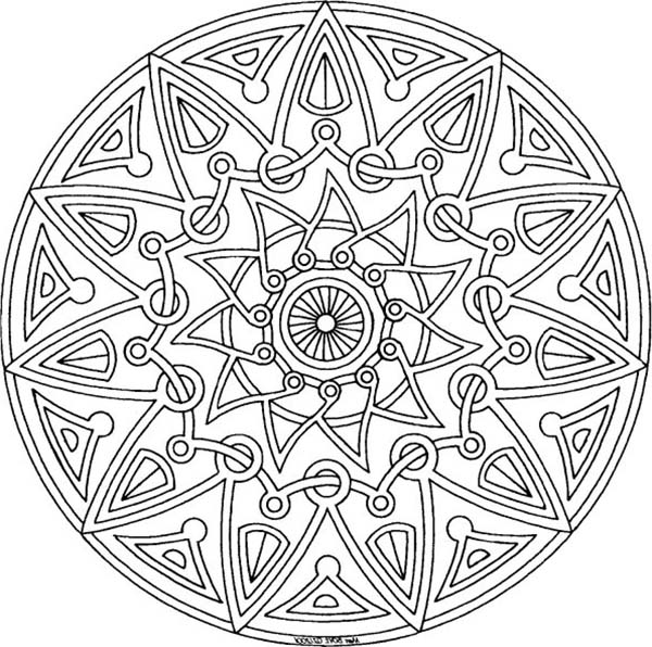 Aztec, : Aztec Tribal Coloring Pages