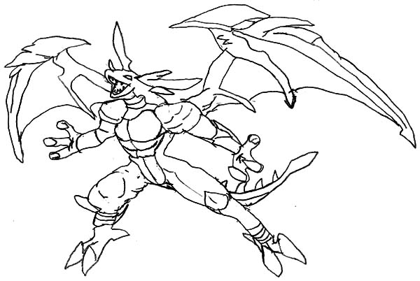 Bakug, : Bakug Bakugan Dargo Scream Coloring Pages