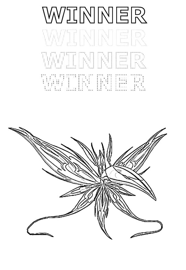 Bakug, : Bakug Bakugan Winner Coloring Pages