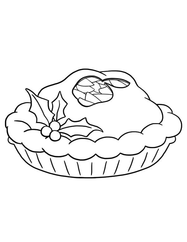 Apple Pie Coloring Pages