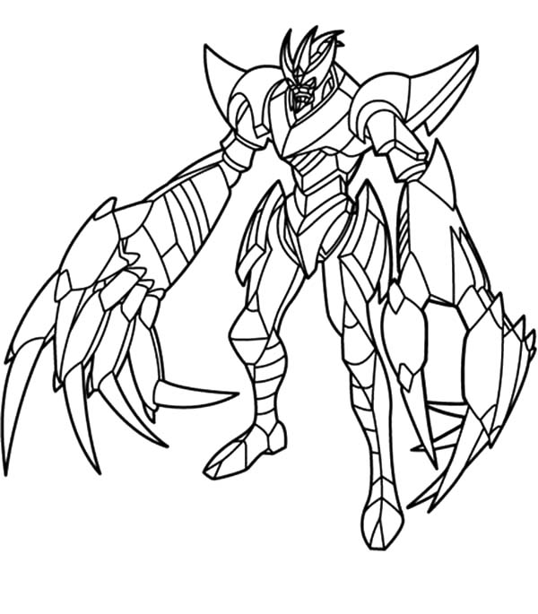 Leonidas Bakugan Coloring Pages Coloring Pages