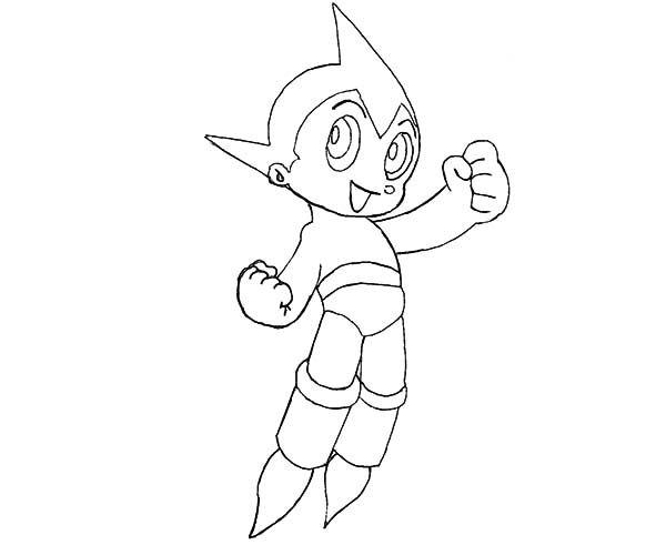 Astro Boy, : How to Draw Astro Boy Coloring Pages