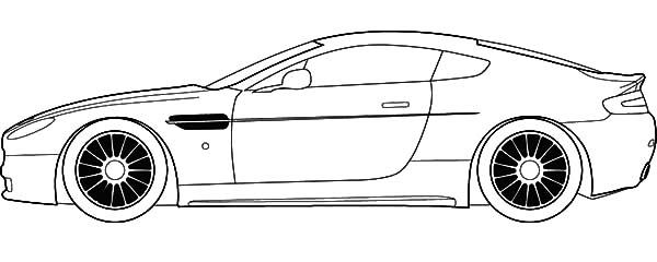 jaguar racing cars coloring pages - Car Coloring Page