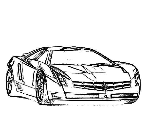 Jaguar Cars, : Luxurious Jaguar Cars Coloring Pages