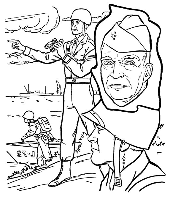 Army, : Veterans Day Army Coloring Pages
