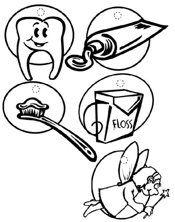 Dentist, : All About Dentist Coloring Pages