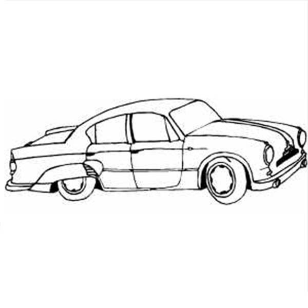 Classic Cars, : Awesome Classic Cars Coloring Pages