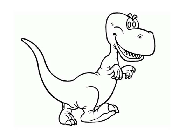 Baby Dinos, : Baby Dinos with Sharp Teeth Coloring Pages