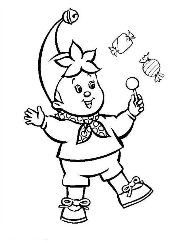 Circus and Carnival, : Buy a Lot of Candy at Circus and Carnival Coloring Pages