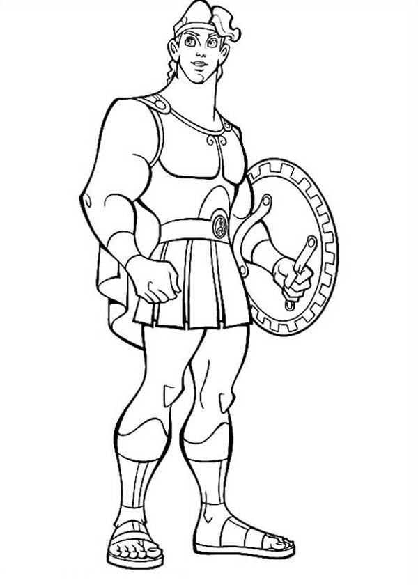 Hercules, : Disney Hercules Coloring Pages