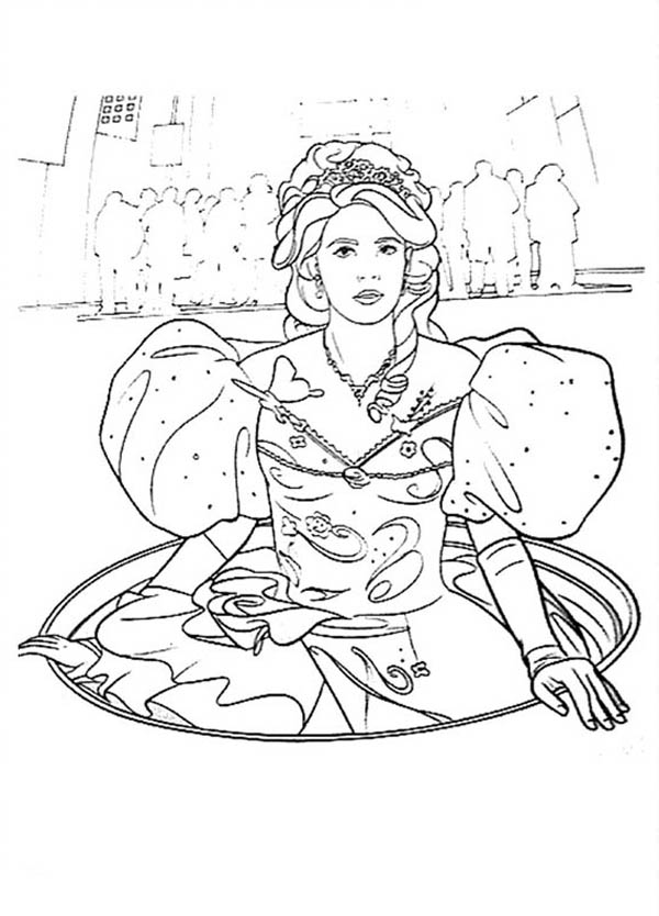 Enchanted, : Giselle from Enchanted Coloring Pages