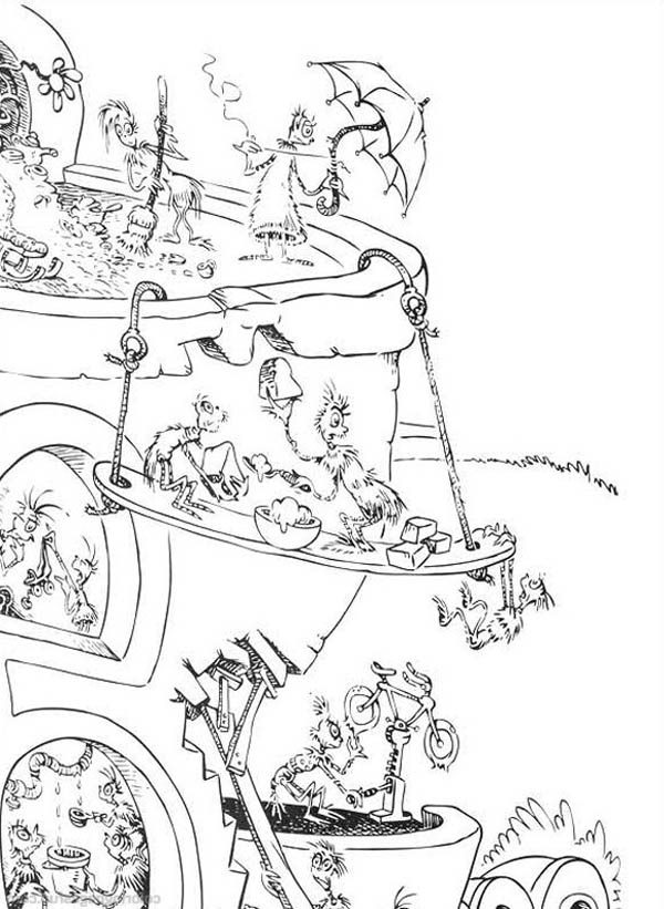 Horton, : Horton Hears a Who Coloring Pages