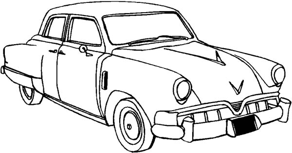 How To Draw Classic Cars Coloring Pages Bulk Color
