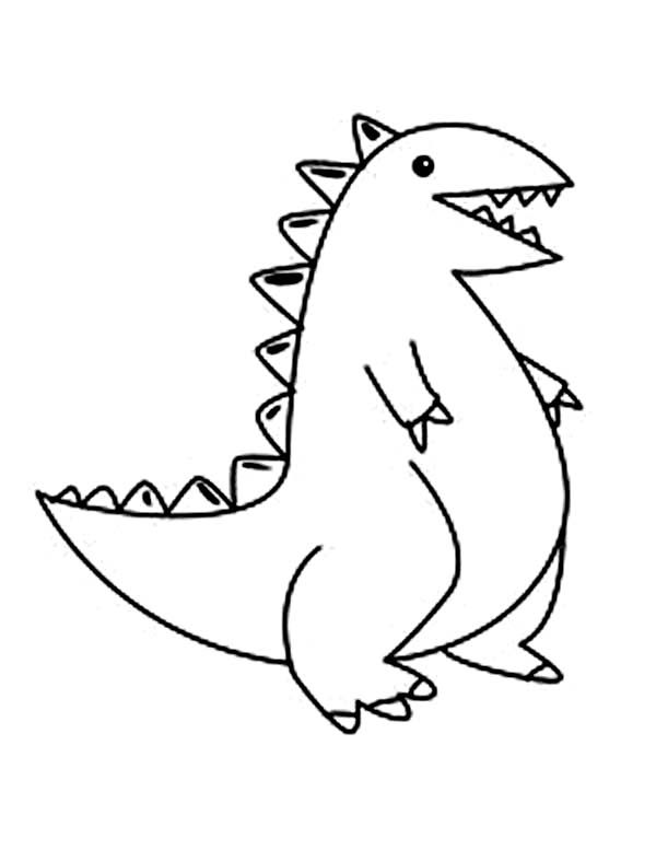 Baby Dinos, : Kids Drawing Baby Dinos Coloring Pages