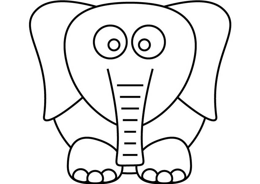 Dumbo the Elephant, : Kids Drawing Dumbo the Elephant Coloring Pages