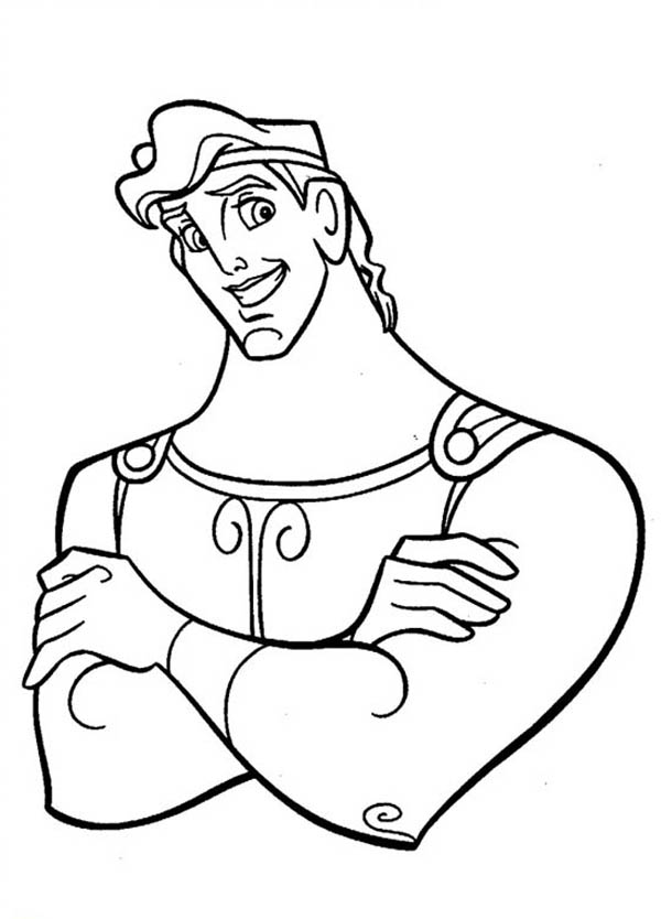 Hercules, : Picture of Hercules Coloring Pages
